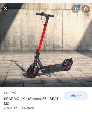 Patinete eléctrico SEAT MÓ eKickScooter 65