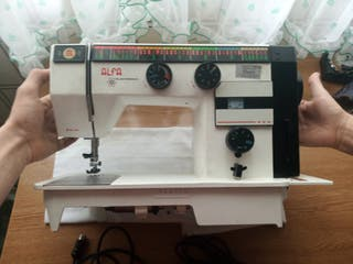Maquina de coser alfa electronic