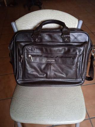 maletín de piel Bellido