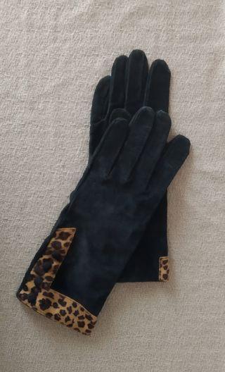 NUEVOS guantes de piel ante DENTS