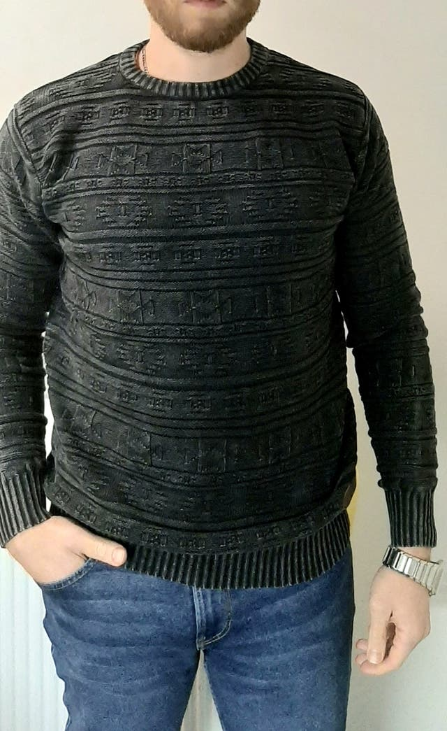 Pull MZ72 Swag col rond 100% Coton
