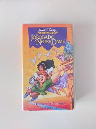 El Jorobado de Notre Dame VHS Los Clásicos