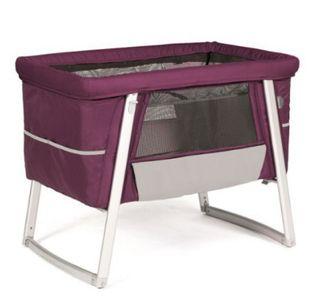 Babyhome Minicuna air purple con ruedas
