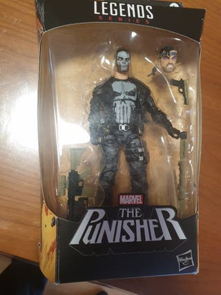 figura marvel legends the punisher