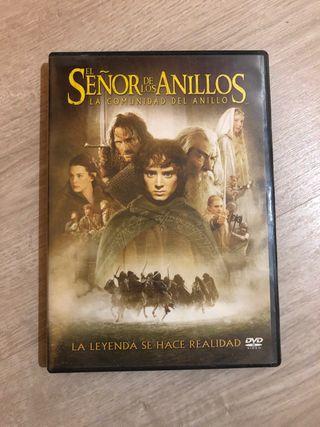 El señor de los anillos DVD