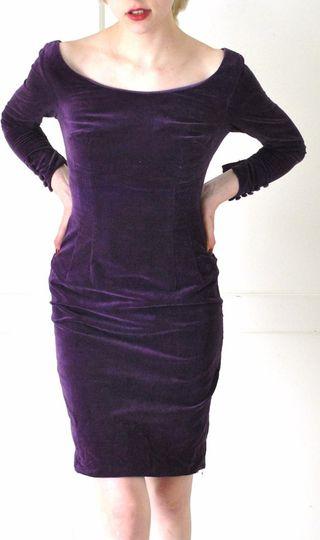 Vestido vintage años 60 talla pequeña