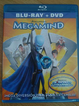 Pelicula Bluray Megamind DreamWorks