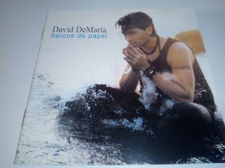 CD DAVID DEMARÍA BARCOS DE PAPEL