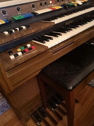 Órgano Vintage KAWAI