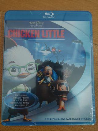 Pelicula Bluray Chicken Little nuevo disney