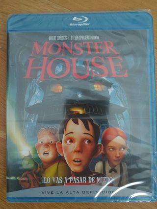 Pelicula Bluray Nuevo Monster House