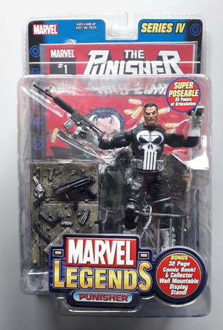 Marvel Legends Punisher Castigador