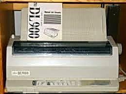 Impresora Matricial Fujitsu DL900 para piezas