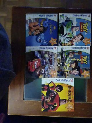 Libros infantiles de películas Disney - Pixar