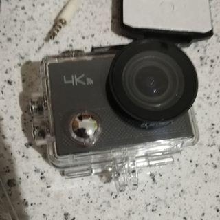 Mini Cámara Apeman 4K + Accesorios.