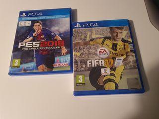 pack futbol ps4