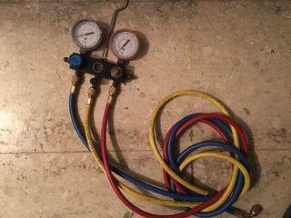 Manómetro aire acondicionado o industrial.