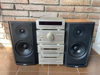 Cadena Hi-Fi Technics + Altavoces Bowers W B&W