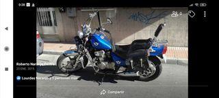 vendo motocicleta o aceptaría cambio