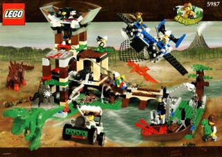 Lego adventurers dino island 5987 NUEVO