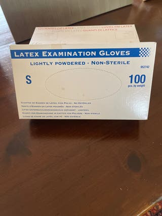 Caja guantes latex