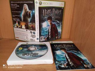 Harry potter y el misterio del principe (2009 xbox