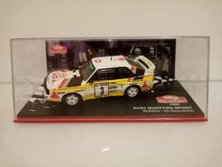 Audi Quattro sport rally montecarlo escala 1/43