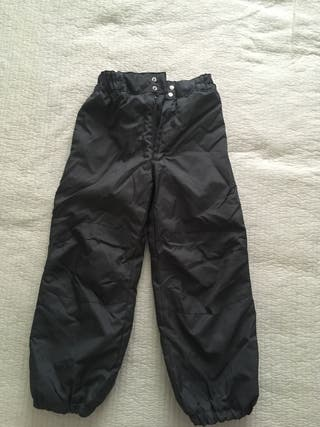 Pantalones de nieve (esquiar). Talla 8-9