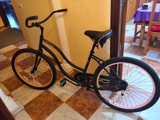Bicicleta Cruiser Manhattan 1 Aero Lady negro