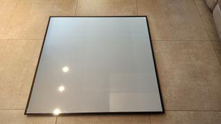 espejo cuadrado 90 x 90 cm grande