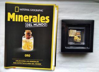 Colección minerales del Mundo/Oro