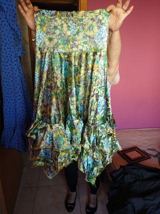 faldas de sevillana hechas a mano
