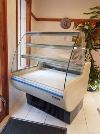 mostrador/vitrina frigorífico