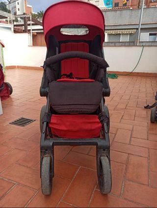 carrito muum trío de Jane +silla paseo+patinete