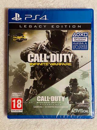 Call of Duty Infinite Warfare y Modern Warfare PS4