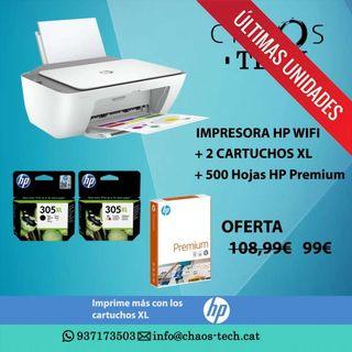 Impresora HP Nueva + Cartuchos