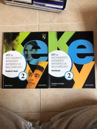 Key to Bachillerato 2 Student's Book + Workbook