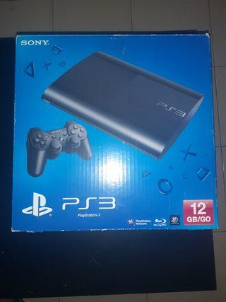 PS3 SUPERSLIM 150 Gb SONY. EN SU CAJA ORIGINAL