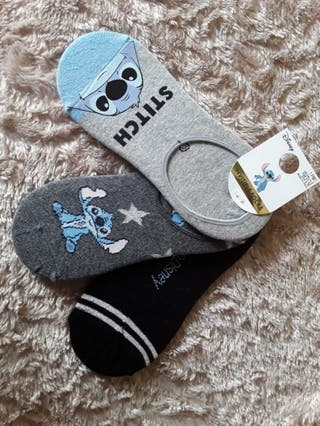 Pack calcetines invisibles de Stitch 37/42