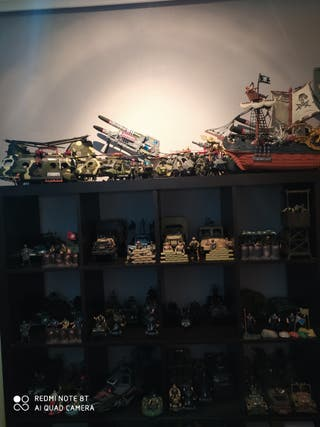 colección impresionante juguetes militares