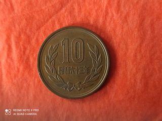 Moneda de 10 yenes japoneses