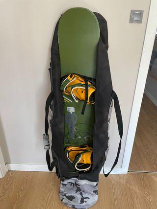 Equipo de snowboard completo o separado