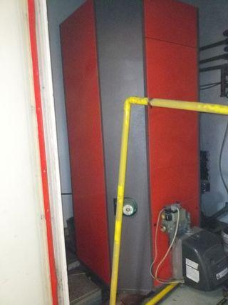 Caldera de gas natural con acumulador de 500 litro