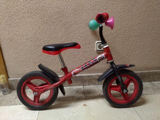 Bicicleta sin pedales Disney Cars - Rayo Mcqueen