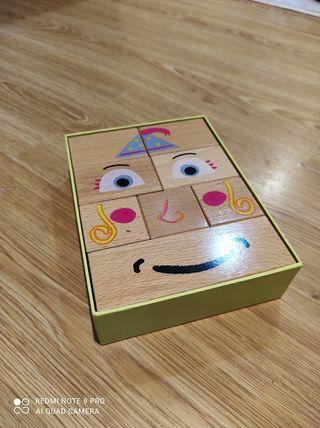 Natural Cara-cubo Puzzle