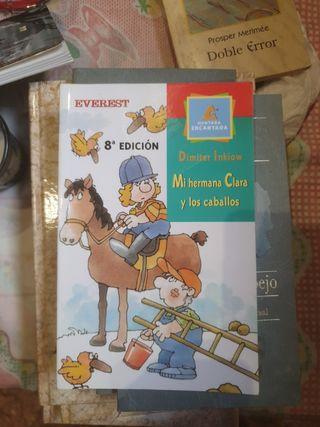 Mi hermana Clara y los caballos