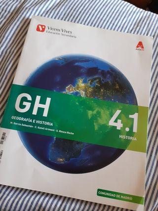 Libro Geografia e Historia 4 eso Vicens Vivens 4.1