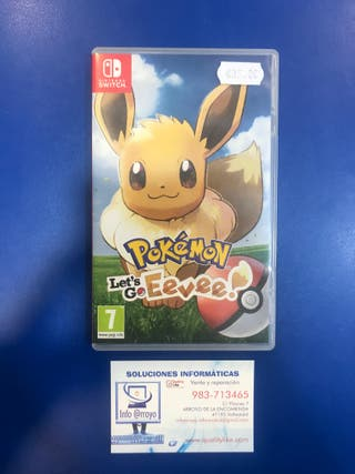 Pokémon Let's Go Eevee! / Nintendo Switch