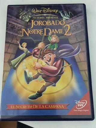 EL JOROBADO DE NOTRE DAME 2.DISNEY