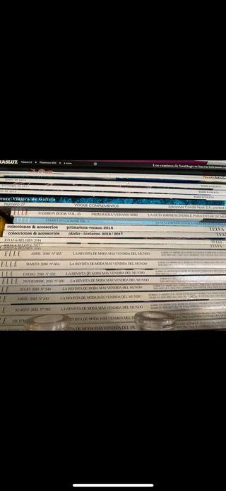 Revistas ELLE , TELVA, AD, decoración, VOGUE